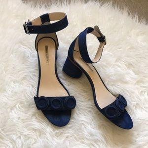 Zara Denim Sandals Size 39